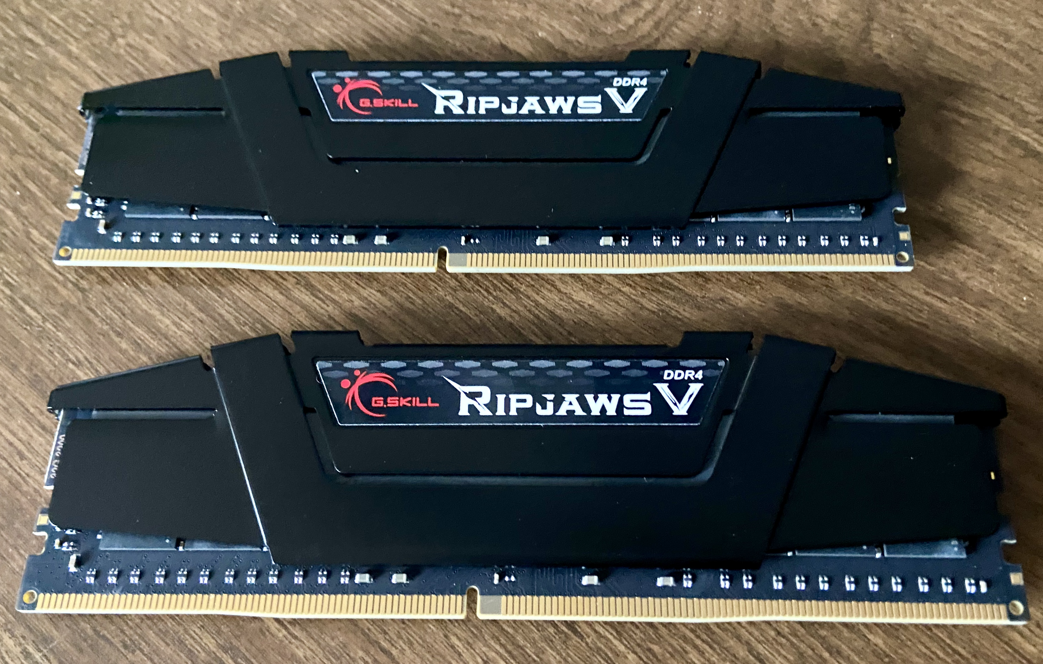 Two 32GB sticks of DDR4 3200 ram in