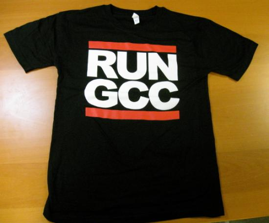 Run GCC tshirt I saw