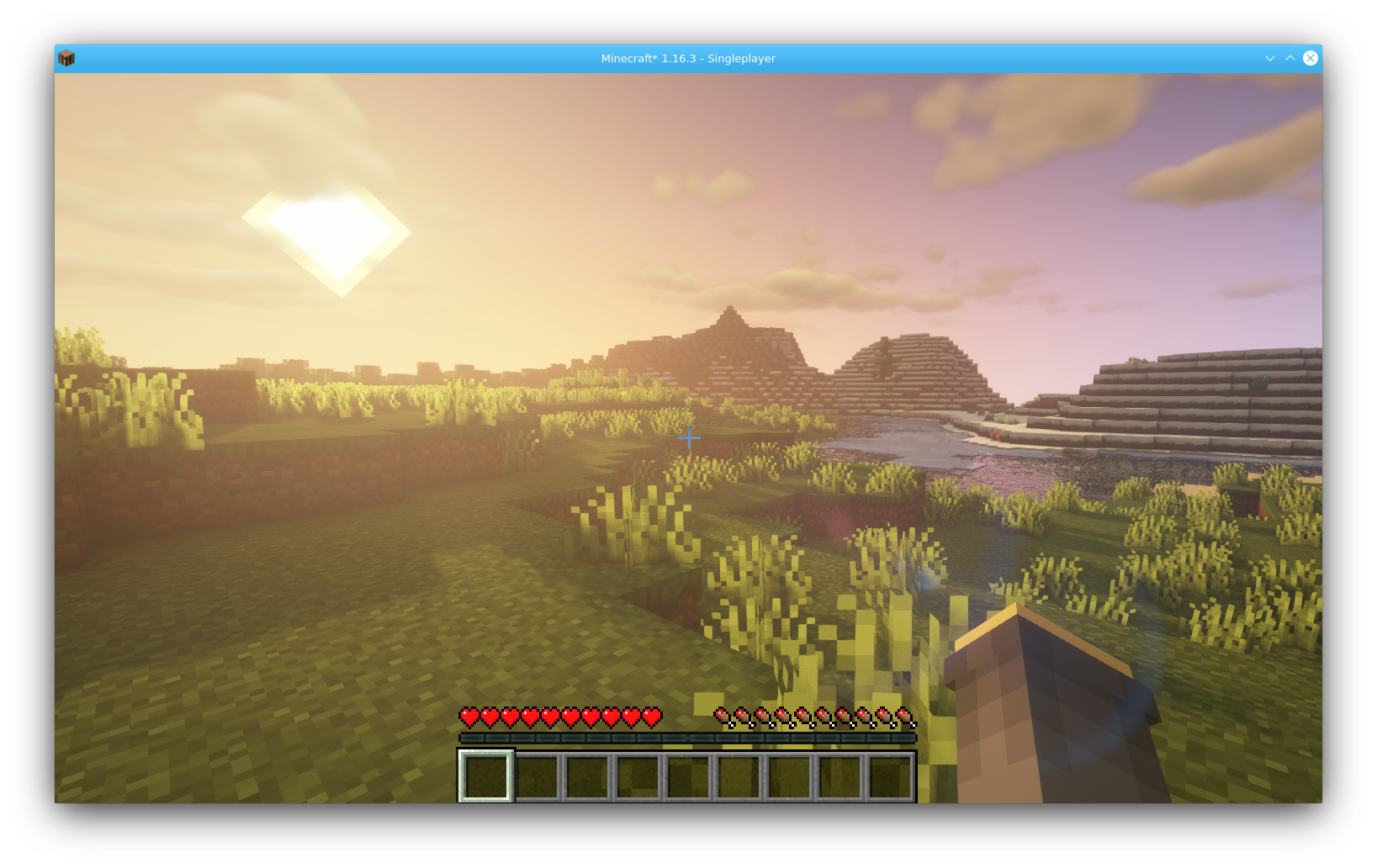 Minecraft with Shaders